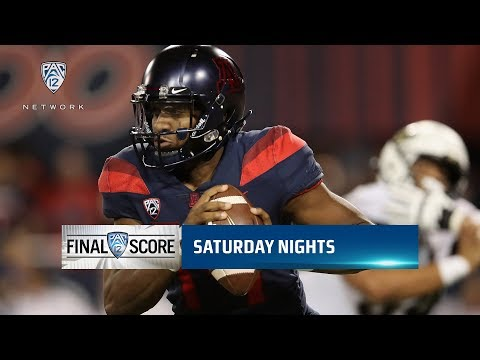 Highlights: Khalil Tate's career night powers Arizona football over Colorado