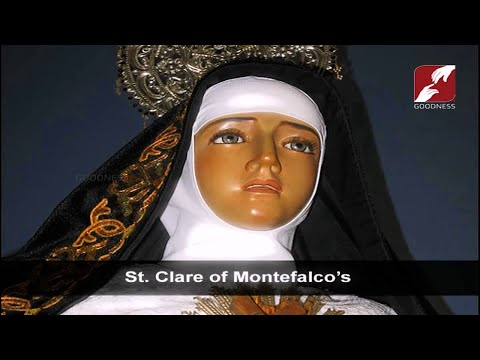 AUG 23,2019 | DAY BREAK | ST CLARE OF MONTEFALCO'S