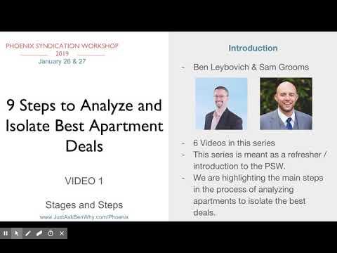 9 Steps to Analyze and Isolate Best Apartment Deals, Video 1