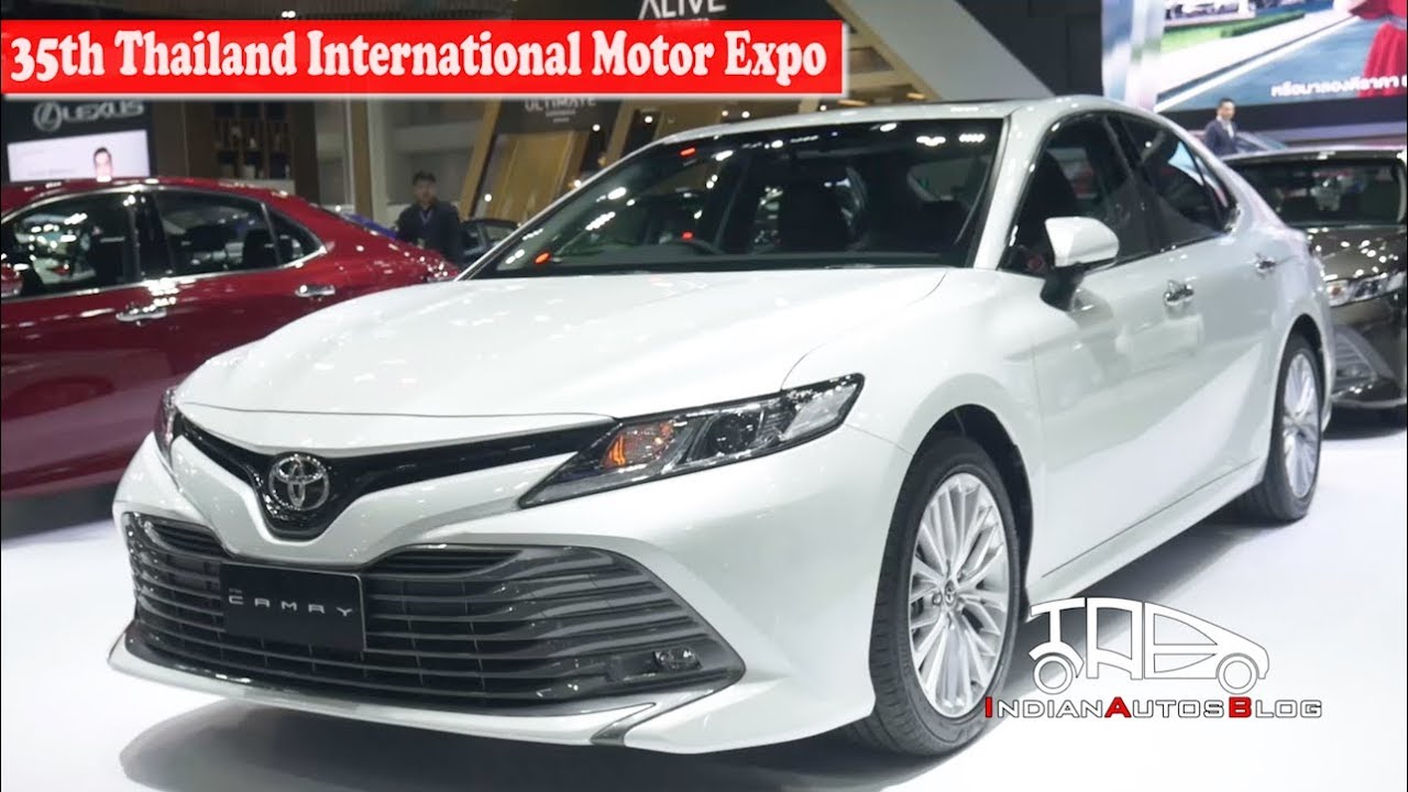 all new camry thailand agya trd s 2019 toyota 35th international motor expo indian autos blog