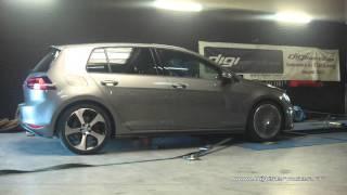 VW Golf 7 gti performance 230cv DSG Reprogrammation Moteur @ 311cv Digiservices Paris 77 Dyno