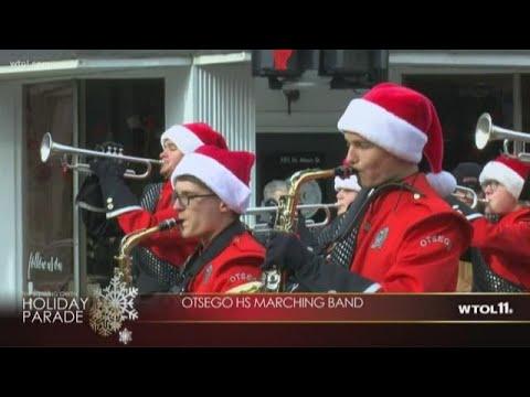 Bowling Green Holiday Parade - Otsego High School marching band