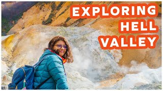 Exploring Hell Valley | Noboribetsu | Chasing Autumn in Hokkaido, Japan