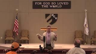 Mdiv Chapel - Brad McKinnon