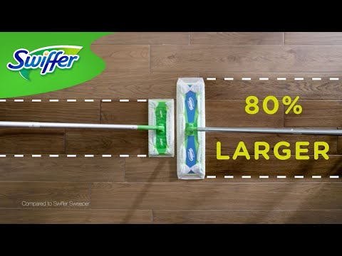 Quick and Easy Hardwood Floor Cleaning: Swiffer Sweeper X-Large | Swiffer