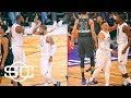 LeBron, Kyrie, KD and Russell show chemistry in All-Star win   SportsCenter   ESPN