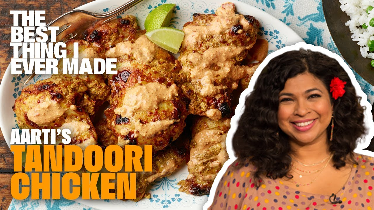 Aarti Sequeira Recipes Food Tv tandoori chicken with aarti sequeira | best thing i ever made