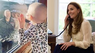 video: Duchess of Cambridge chats to young cancer sufferer from Hold Still project for new YouTube video