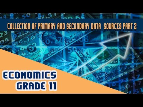 Statistics for Economics Chapter 3 | Part 2 | Collection of Primary and Secondary Data - Collection