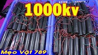 Module kích điện cao áp 50kv, 400kv, 1000kv - Try High Voltage Power Module