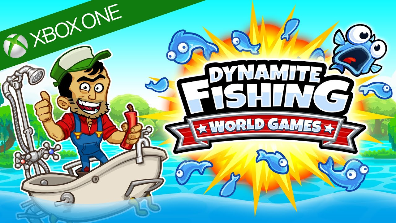 Dynamite fishing world games official xbox one for Xbox fishing games