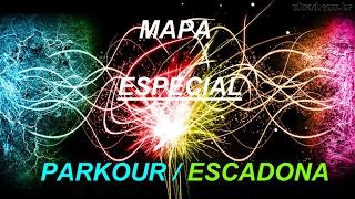 ADIANTANDO O ESPECIAL DE 1K SUBS - MAPA DE PARKOUR + MAPA DE ESCADONA (CORRIDA)