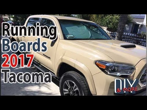 2017 Toyota Tacoma Running Boards >> Diy How To Install Running Boards 2017 Toyota Tacoma