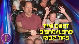 THE BEST DISNEYLAND RIDE TIPS - Save Hours Waiting In Lines | Bethany G