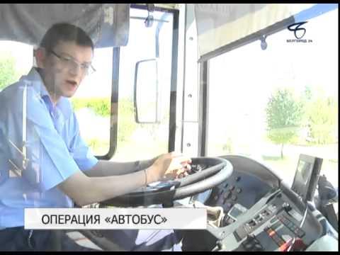 В Белгороде проходит профилактическая операция «Автобус»