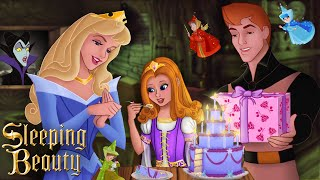Sleeping Beauty: Aurora and Prince Phillip have a daughter! And it's her birthday! 💗💙 | Alice Edit!