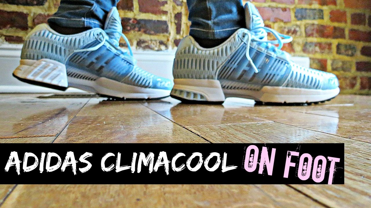 buy online bdf75 6cb90 Adidas Climacool On Foot - YouTube