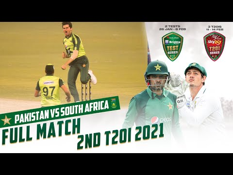LIVE - Pakistan vs South Africa   2nd T20I 2021   PCB