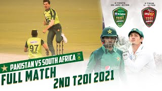 LIVE - Pakistan vs South Africa | 2nd T20I 2021 | PCB