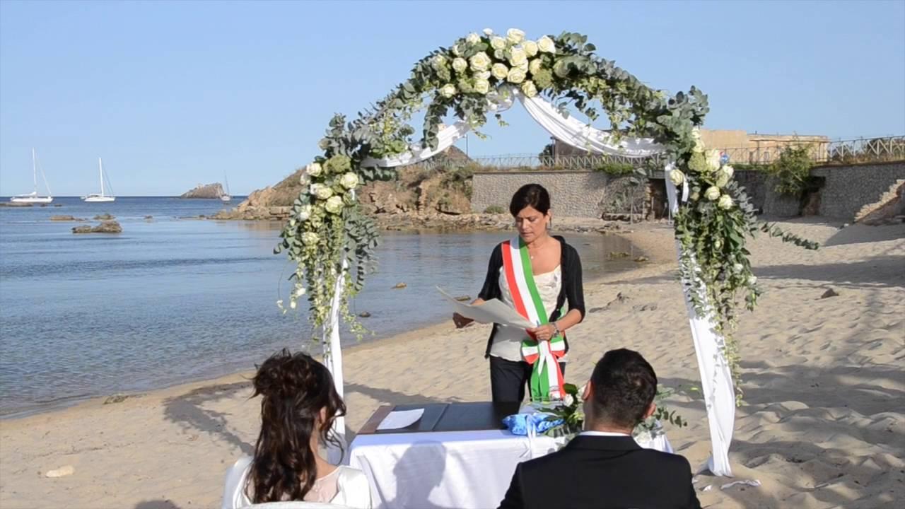 Matrimonio Spiaggia Palermo : Matrimoni a nora pula 2016 youtube
