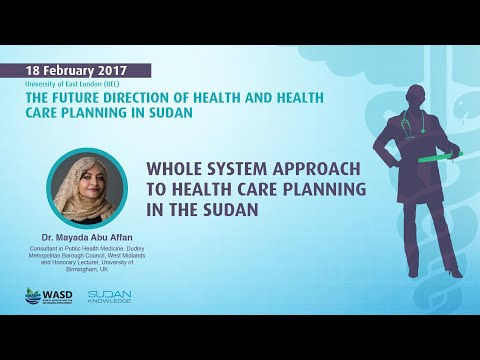 Whole system approach to health care planning in the Sudan