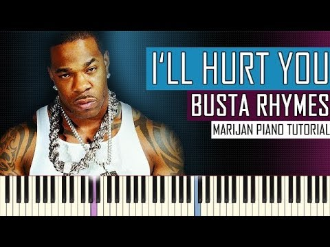 How To Play: Busta Rhymes ft. Eminem - I'll Hurt You | Piano Tutorial