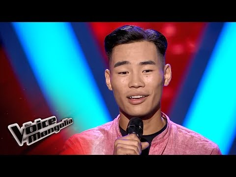 """Usuhbayar.B - """"Angel"""" - Blind Audition - The Voice of Mongolia 2018"""