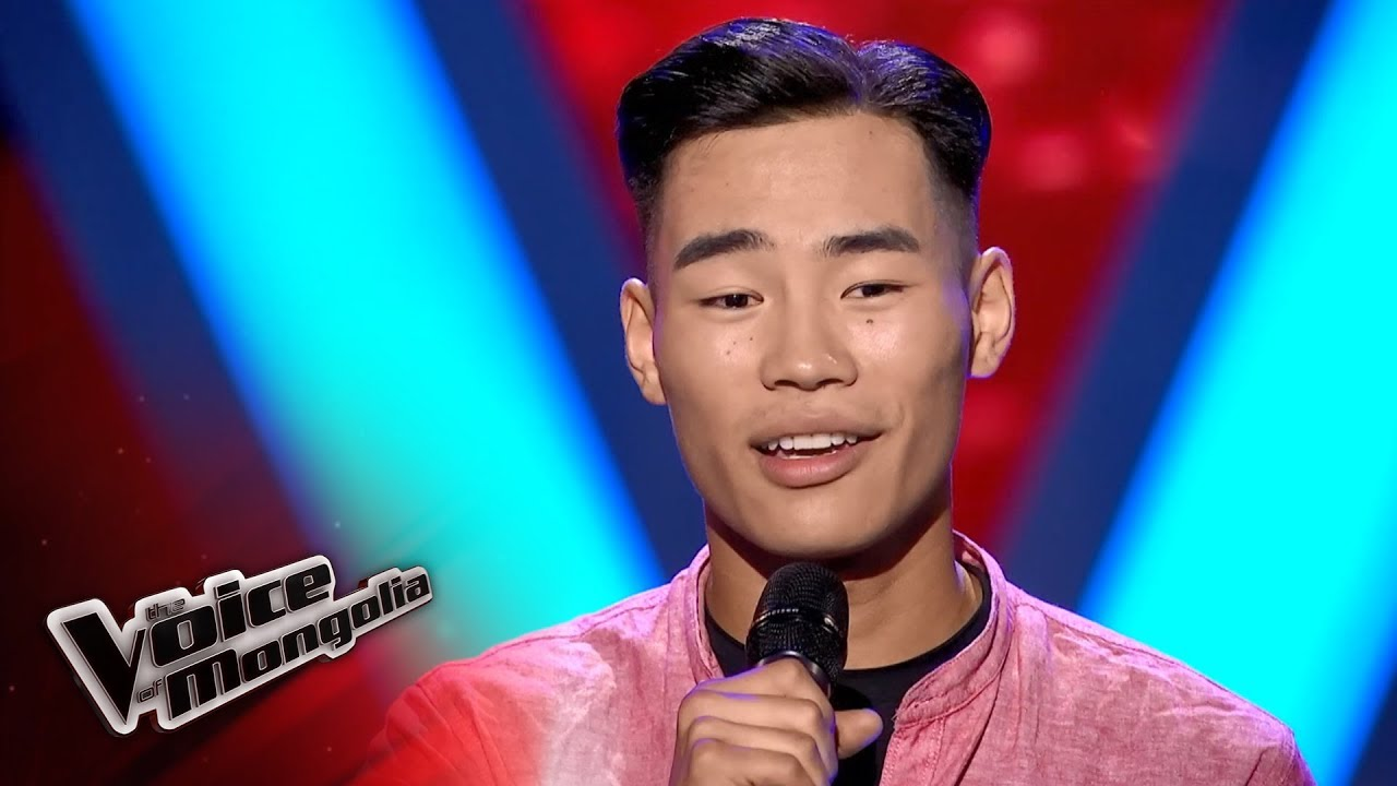 Usuhbayar B -  U0026quot Angel U0026quot  - Blind Audition - The Voice Of Mongolia 2018