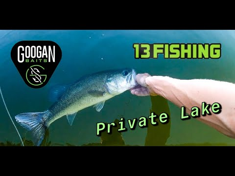Private BIG Bass Lake (Somewhere In Oklahoma Pt. 1)