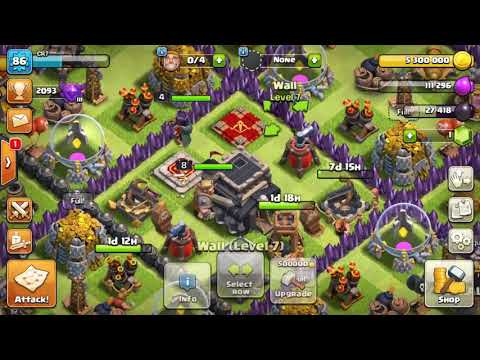 Upgrading Balloons To Level 6 (Clash Of Clans)