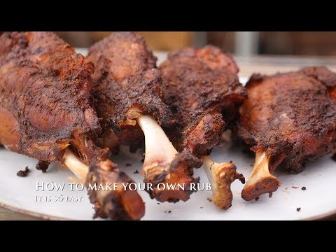How To Make Your Own BBQ Rub ??!!!