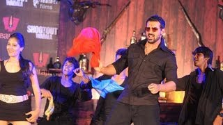 John Abraham Dances On Ala Re Ala Song | Shootout At Wadala
