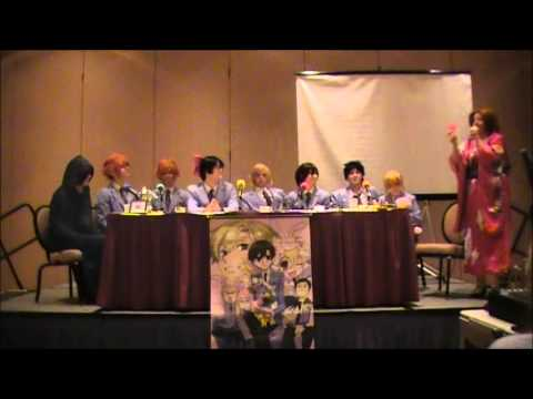 Ouran Highschool Host Club Q&A With Ootori Group Cosplay (2013)