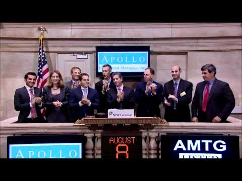 8 August 2011 Apollo Residential Mortgage rings the NYSE Opening Bell