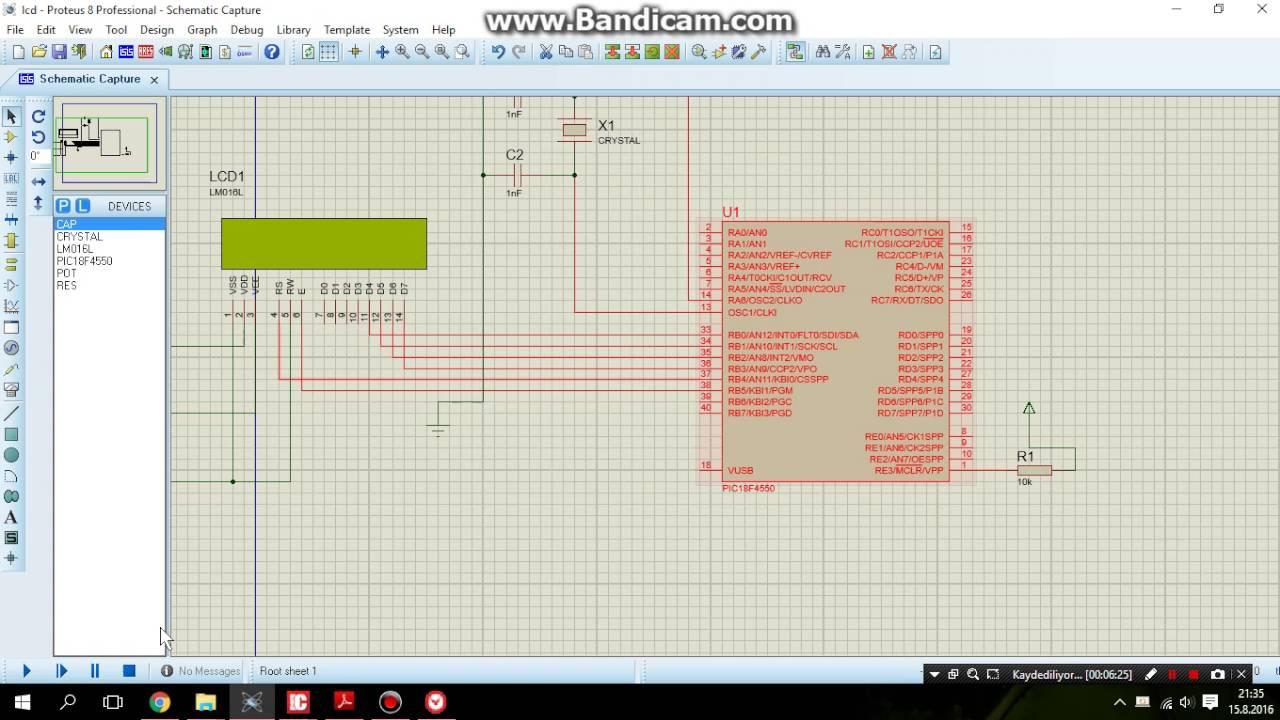 mikroc for pic pic18f4550 timer milisaniye ölçer bölüm 2