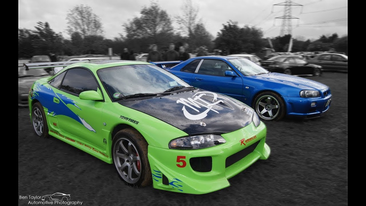 1995 mitsubushi eclipse the fast and the furious replica at japfest 2014 youtube. Black Bedroom Furniture Sets. Home Design Ideas