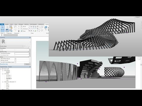 Parametric Computational Designing using Revit (K-Attractor)