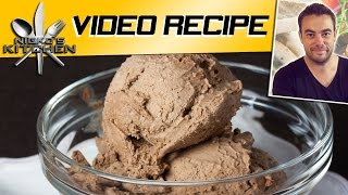 Chocolate Ice Cream (5 Ingredients) - Video Recipe