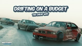 DRIFTING ON A BUDGET  - The cheap way (under 500€) | Missile car fun [4K]