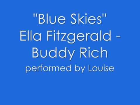 ELLA FITZGERALD - BLUE SKIES LYRICS - SongLyrics.com