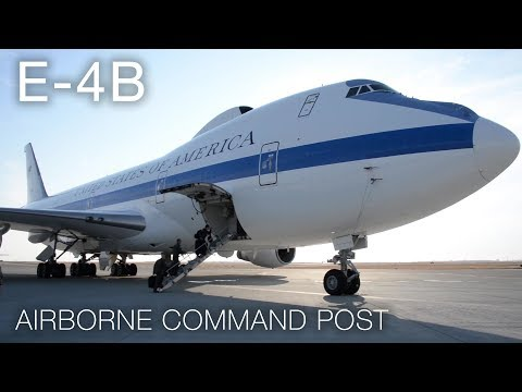 A Rare Peek Inside The E-4B 'Doomsday' Plane