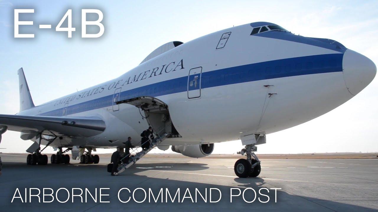 A Rare Peek Inside The E 4b Doomsday Plane Youtube