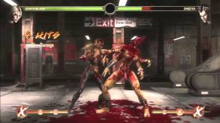 MK9 1 05   Biggest X Ray Combos For Every Character