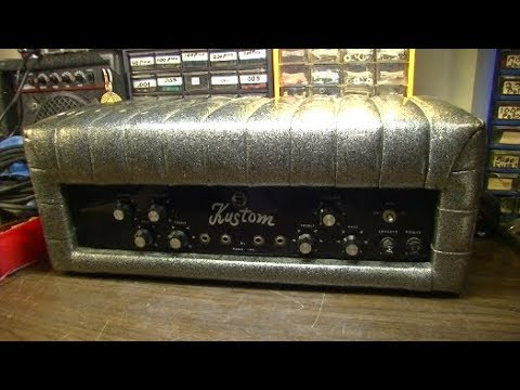 Pixies SABOTAGED this 1966 Kustom Guitar Amp! Can I Borrow a
