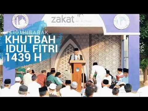 Khutbah Idul Fitri 1439 H - H. Sobirin, HS