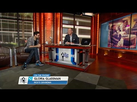 Rich Calls Rick Glassman's Grandmother Gloria to Talk Browns  5/14/15