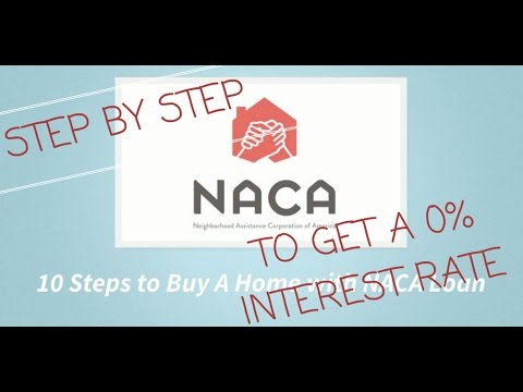 EXPLAINED-How To Get Your NACA Loan Rate Down To 0% STEP BY STEP