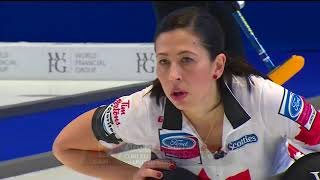 Jones (CAN) vs. Hasselborg (SWE) - 2018 Ford World Women's Curling Championship - Gold Medal Game