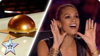 Download Alesha Dixon's BEST GOLDEN BUZZERS   Britain's Got Talent Mp3 and Videos
