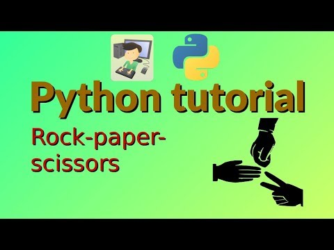 Python tutorial: Rock-paper-scissors thumbnail